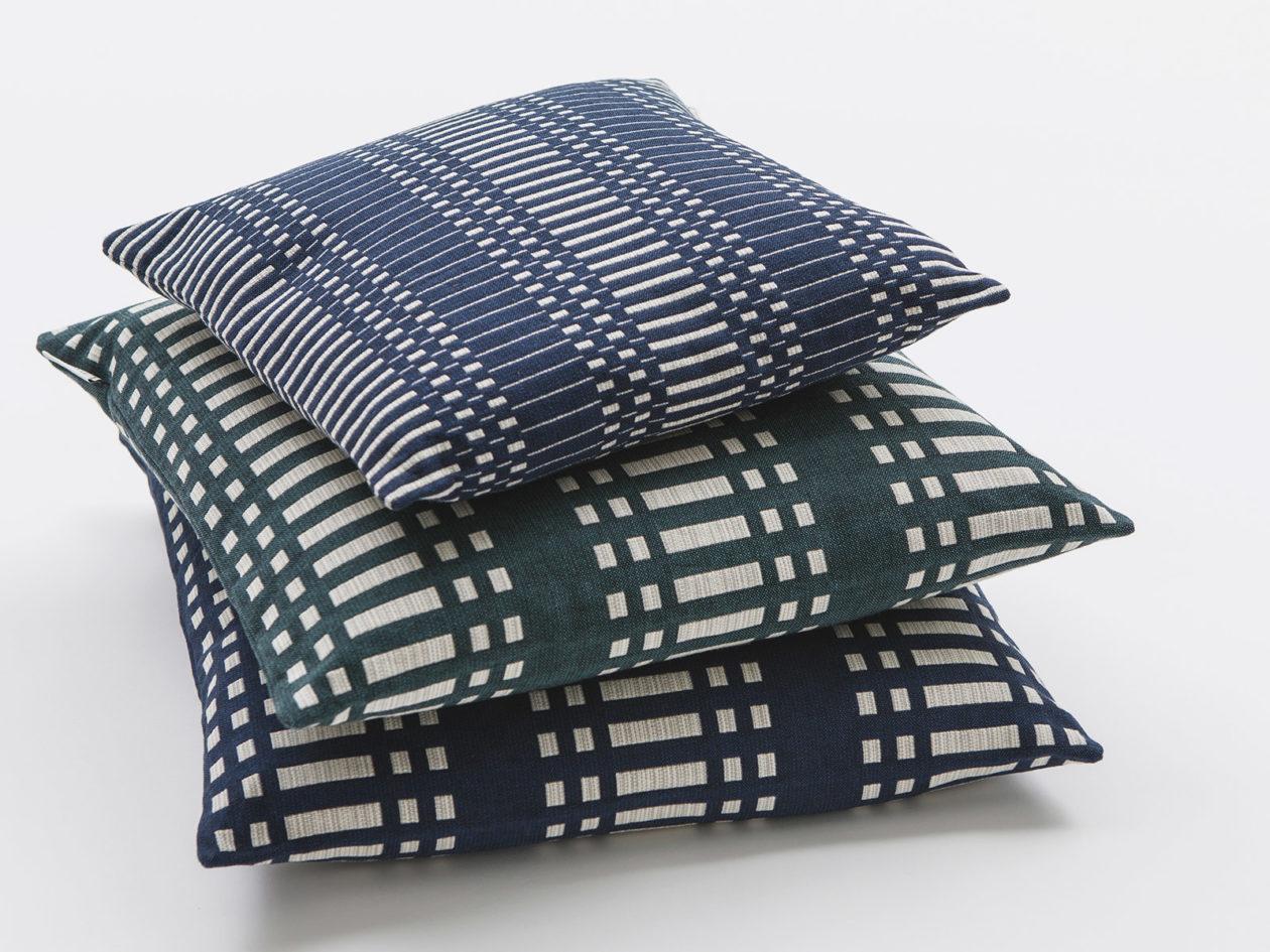 Tyynynpäälliset Nereus sininen, tummanvihreä, tummansininen